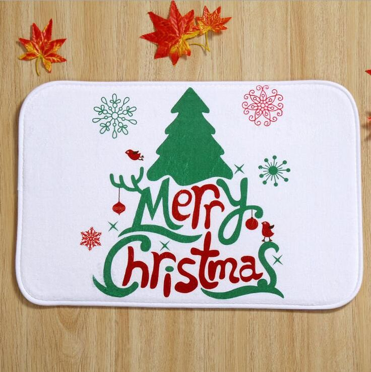Find More Mat Information about Christmas Tree Door Mats Home Decoration Carpets New Design Plush Fleece Floor Keep Clean Rug Front Door Shoes Pad,High Quality Mat from Products Sea on Aliexpress.com