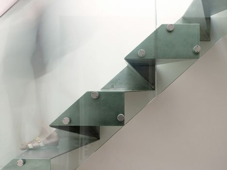 Origami Stair by Bell Phillips architects