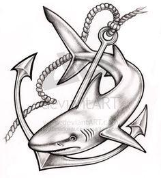 mako shark tattoos - Google Search