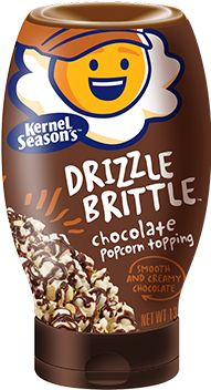 Yum! A tasty edition to make your popcorn even more enjoyable from Kernel Season's: Chocolate Drizzle Brittle.