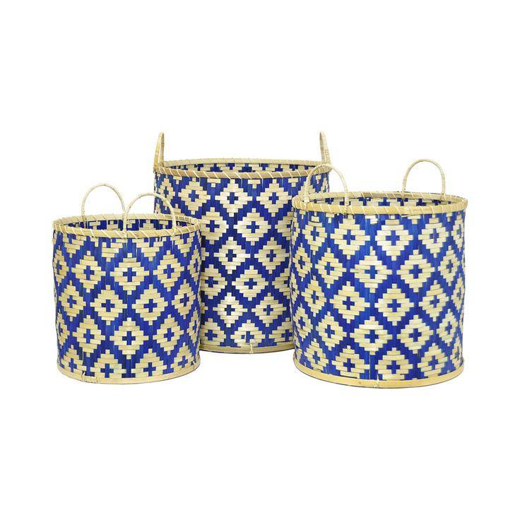 Larkspur Baskets