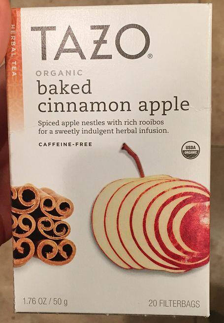 Tazo Baked Cinnamon Apple Tea
