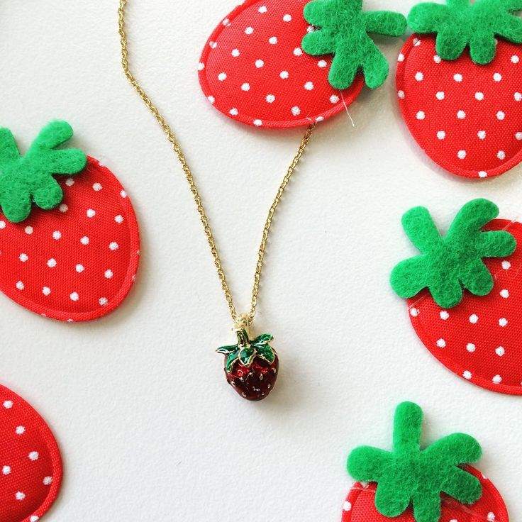 You can never have enough strawberries! How sweet does this Bill Skinner summer strawberry pendant look? Tap the image to shop the range. #QVCJewellery