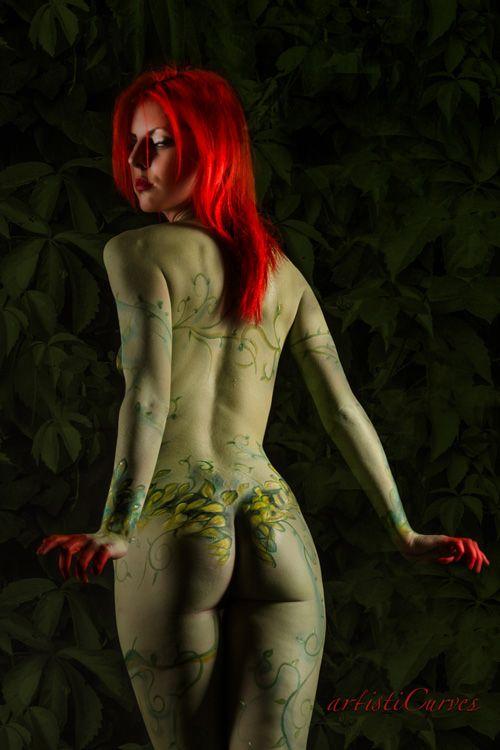 batman poison ivy cosplay nude