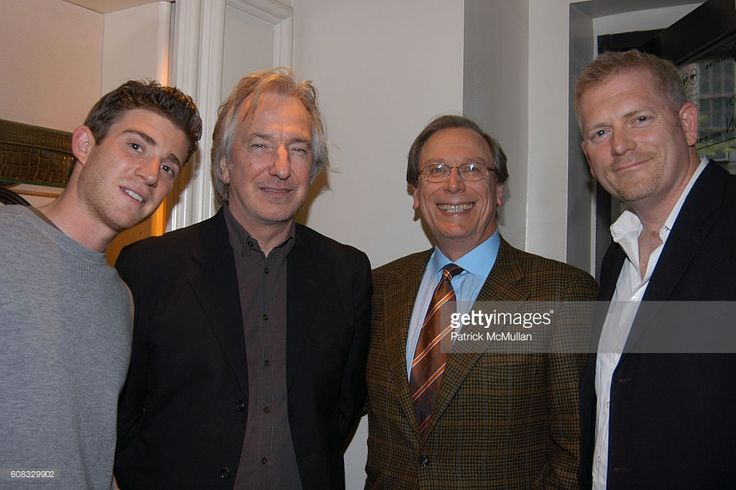 Bryan Greenberg, Alan Rickman, Fred Discenfeld and Randall Miller attend MOVIES ON MADISON Hosts Parties for 2007 Tribeca Film Festival Entries LADY CHATTERLEY & NOBEL SON at Wolford & LAI Boutiques on April 29, 2007 in New York City.