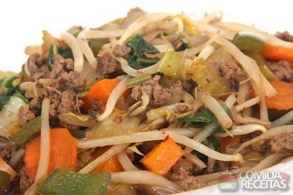 Receita de Chop suey em receitas de carnes, veja essa e outras receitas aqui!