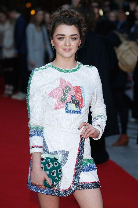 Maisie Williams at 2016 Empire Awards