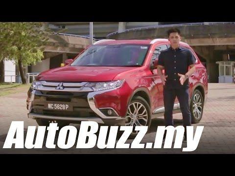 (13) 2016 Mitsubishi Outlander 2.4 MIVEC SUV Review - AutoBuzz.my - YouTube