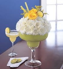 super cute margarita centerpiece! do latin theme?