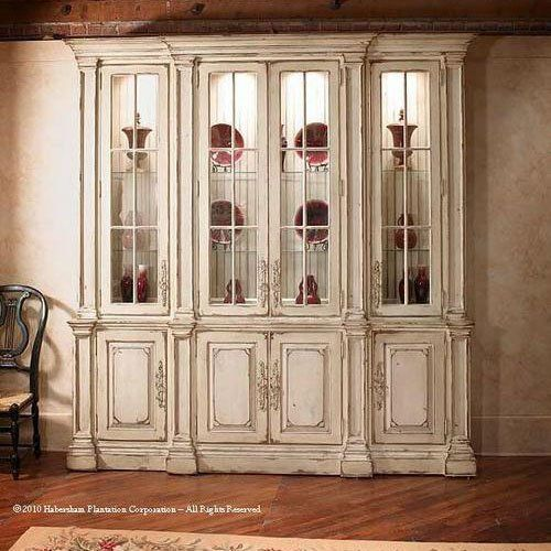 habersham trouville 8ft breakfront china cabinet hb238175 - Habersham Furniture