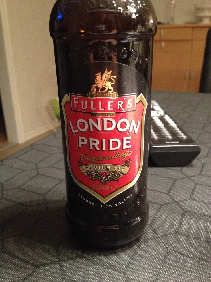 Fuller's London pride beer is the beer for me right now. It is so good!!!!