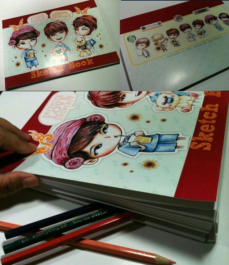 Sketch Book - INFINITE Pencil Color