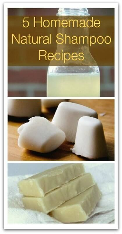 awesome 5 Homemade Natural Shampoo Recipes