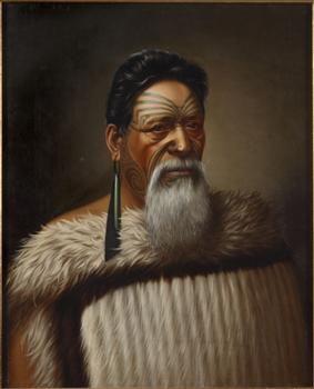 Hon. Wi Tako Ngatata M.L.C., Chief of the Ngatiawa tribe in Taranaki N.Z. - Collections Online - Museum of New Zealand Te Papa Tongarewa
