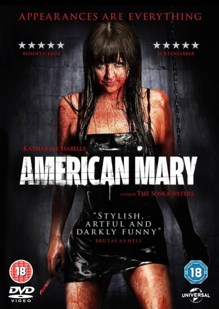 american mary poster - http://johnrieber.com/2013/06/07/modern-horror-twin-directors-the-soska-sisters-american-mary-dead-hooker-in-a-trunk/