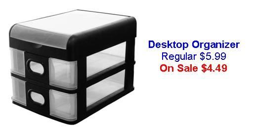 Desktop Organizer Special