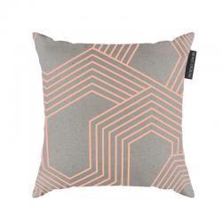Geo Cushions Neon Peach