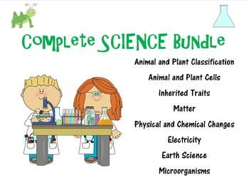 Science Bundle for the YEAR {with Interactive Notes ...