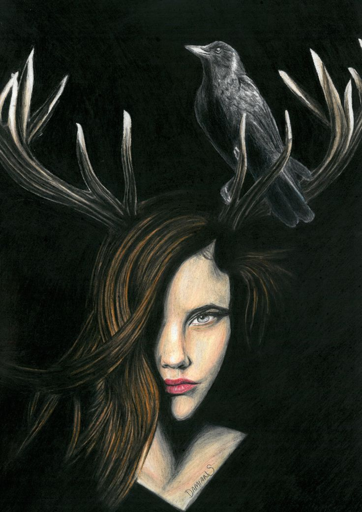 'Comfort in darkness' colour pencil drawing by Damian Smith using prismacolor and a touch of charcoal to add more depth and even tone to the black areas damiansart.com