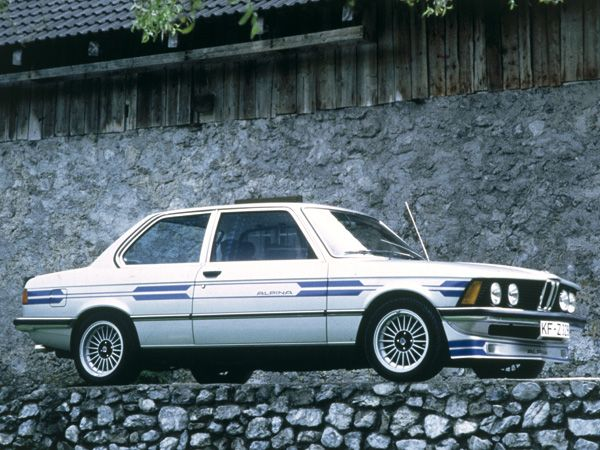 E21 Alpina-BMW B6 2.8. If you wanted a fast compact back in 1980, this was it