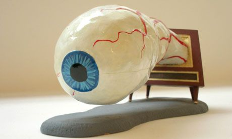 Eye-opener ... Jim Shaw's Dream Object (Eyeball TV Model) 2006. Photograph courtesy the artist and Marc Jancou Contemporary, New York
