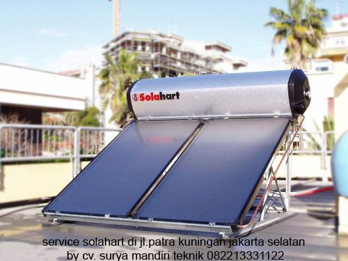 Layanan service solahart daerah kebagusan cabang teknisi jakarta selatan CV.SURYA MANDIRI TEKNIK siap melayani service maintenance berkala untuk alat pemanas air Solar Water Heater (SOLAHART-HANDAL) anda. Layanan jasa service solahart,handal,wika swh.edward,Info Lebih Lanjut Hubungi Kami Segera. Jl.Radin Inten II No.53 Duren Sawit Jakarta 13440 (Kantor Pusat) Tlp : 021-98451163 Fax : 021-50256412 Hot Line 24 H : 082213331122 / 0818201336 Website : www.servicesolahart.co