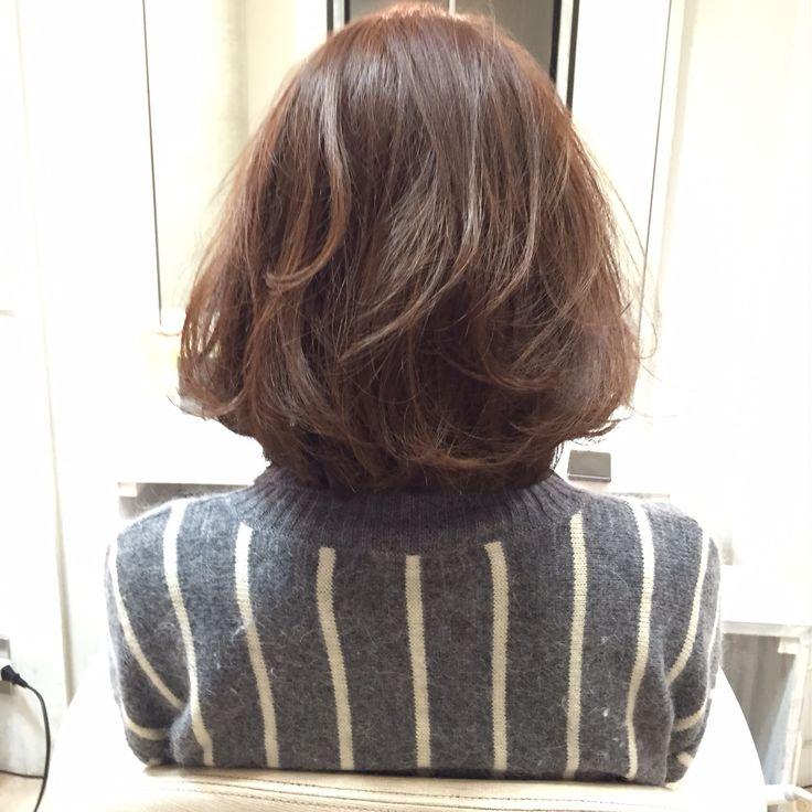 Ash Grege bob hair