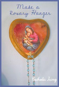 Rosary Hanger Craft