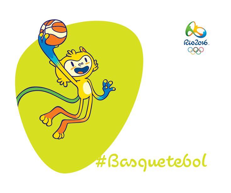 Nós somos os mascotes dos Jogos Rio 2016. Venha nos conhecer e se divertir em http://www.rio2016.com/mascotes