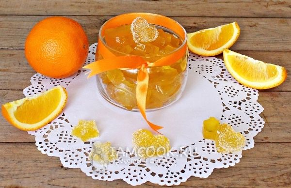 Рецепт апельсинового мармелада
