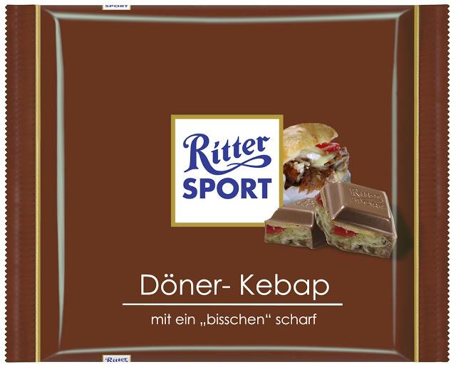 RITTER SPORT Fake Schokolade Döner-Kebap