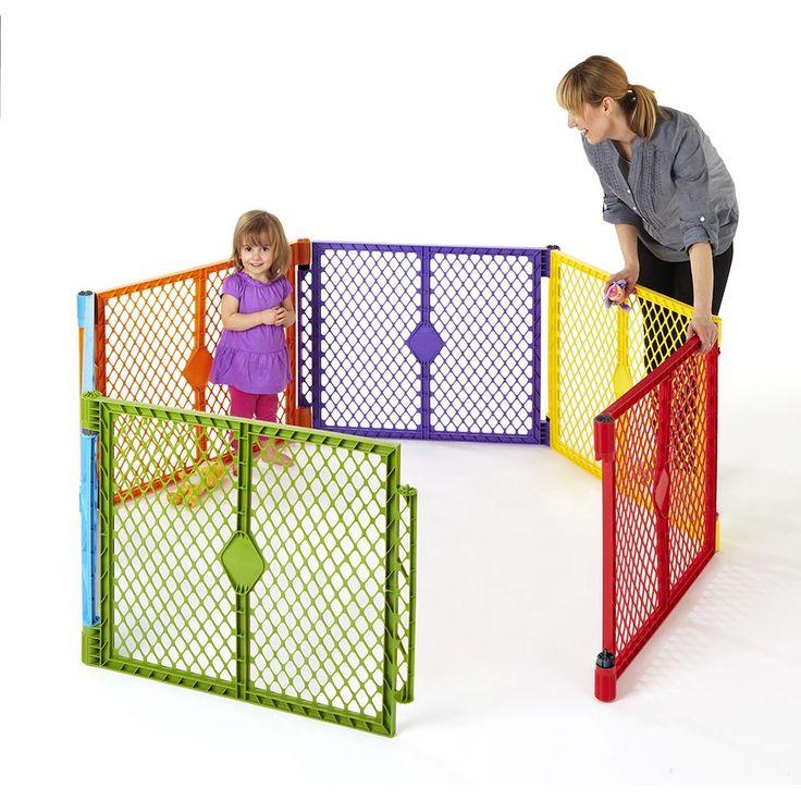 Cercado Americano SuperYard - Colorido -Bebês e Crianças - Berços Portáteis e Cercados - Walmart.com