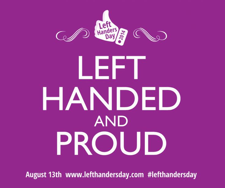 Left Handed and Proud
