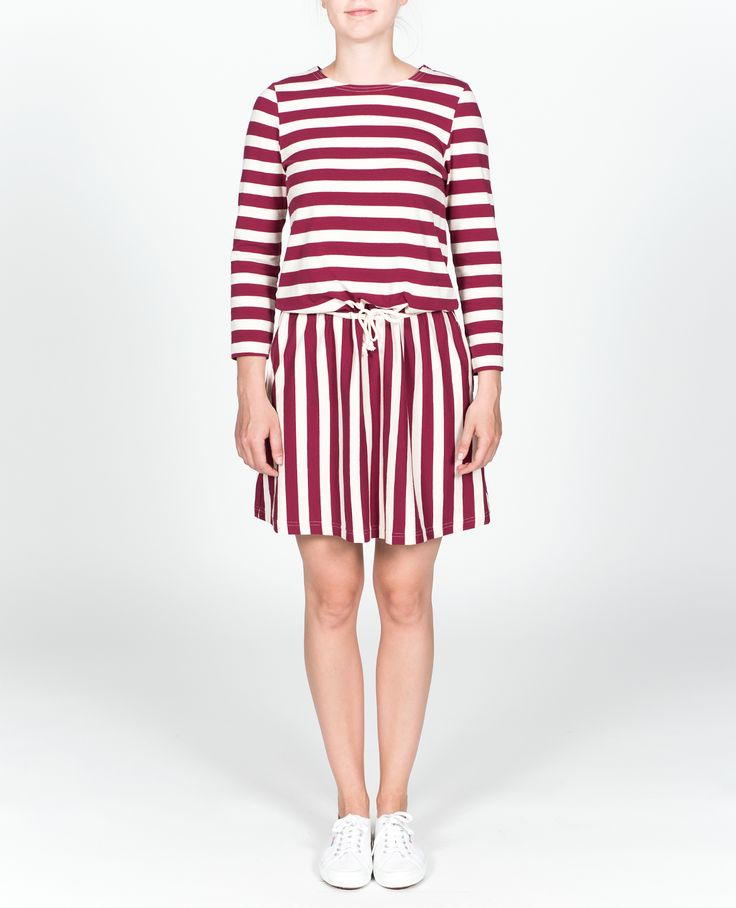 R-Collection Stripe dress