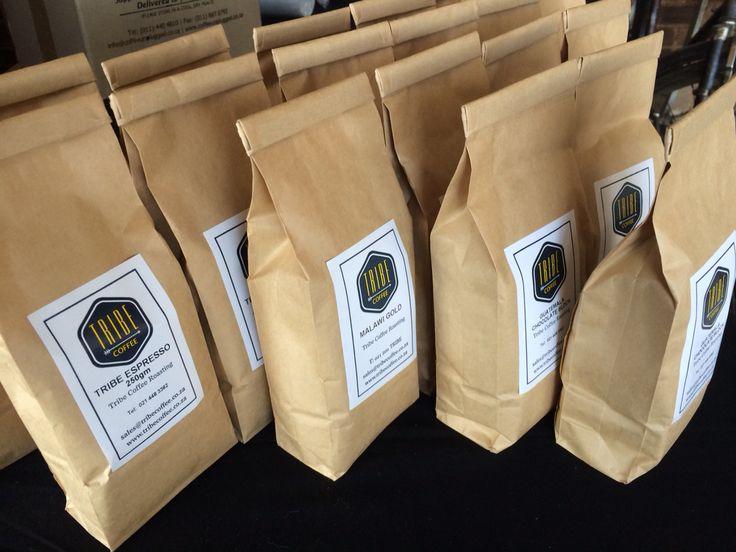Bags of black gold! #tribecoffee www.tribecoffee.co.za