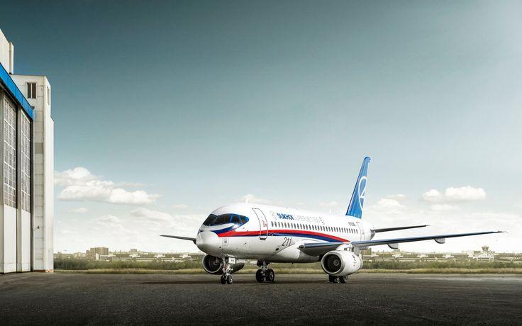 Widescreen Wallpaper: sukhoi superjet 100