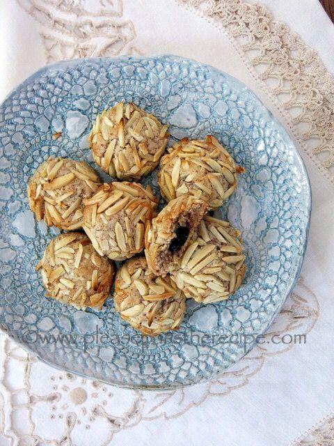 Amarena Cherry Stuffed Amaretti