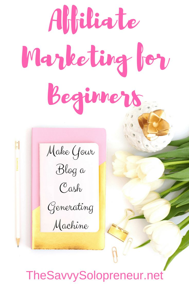 Affiliate Marketing For Beginners - Lan how to monetise your blog so you can make passive income from blogging 24 hours a day! Your blog can become a cash generating machine.