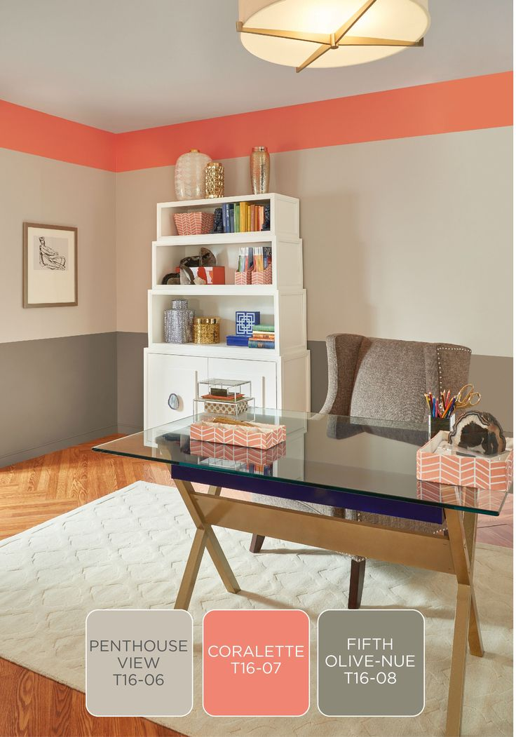 Looking For A Light And Airy Color Palette To Update Your Office With Use The