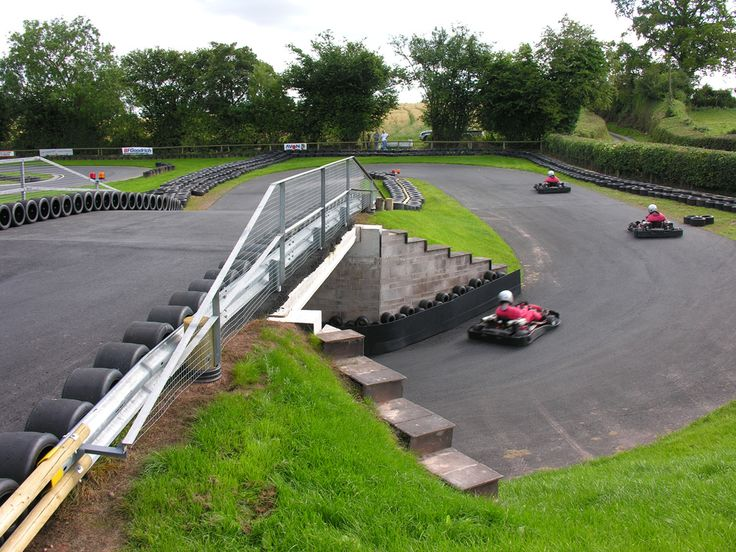 Adrenalin rush at the fantastic outdoor go karting track, only 10 minutes from Lemore Manor.