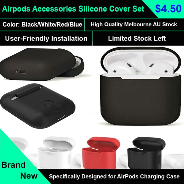 Airpods Accessories Set, Airpods Case Protective Silicone Cover  protect your AirPods against bumps, drops and shock without adding bulk to your charging case, provides full protection for your AirPods Charging Case