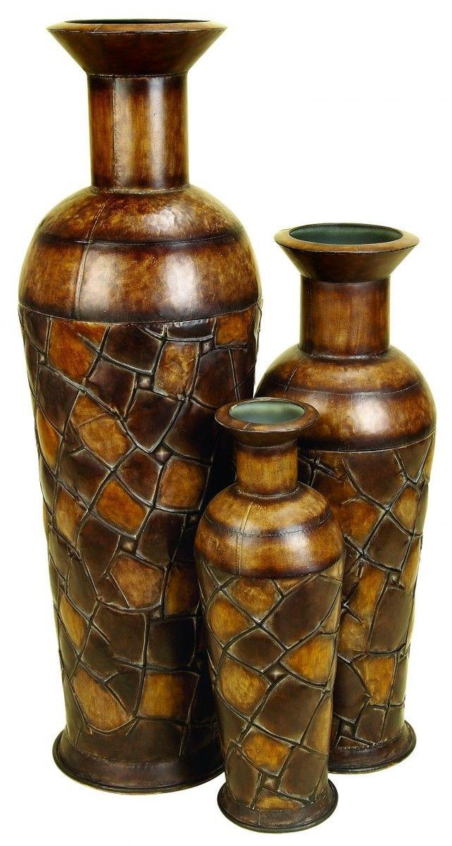 Bronze Tall Floor Vases Qs58 Wendycorsistaubcommunity