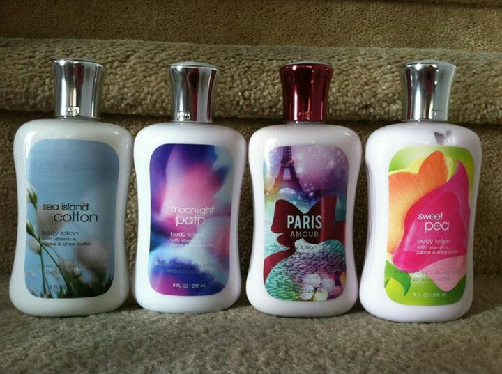 Bath & Body Works : body lotion 236ml - 120rb each also avail in travel size 88ml - 85rb each