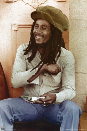 bob marley. My life wouldn't be the same without you. ;) <3