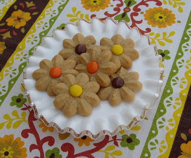 Peanut Butter Spritz Cookies