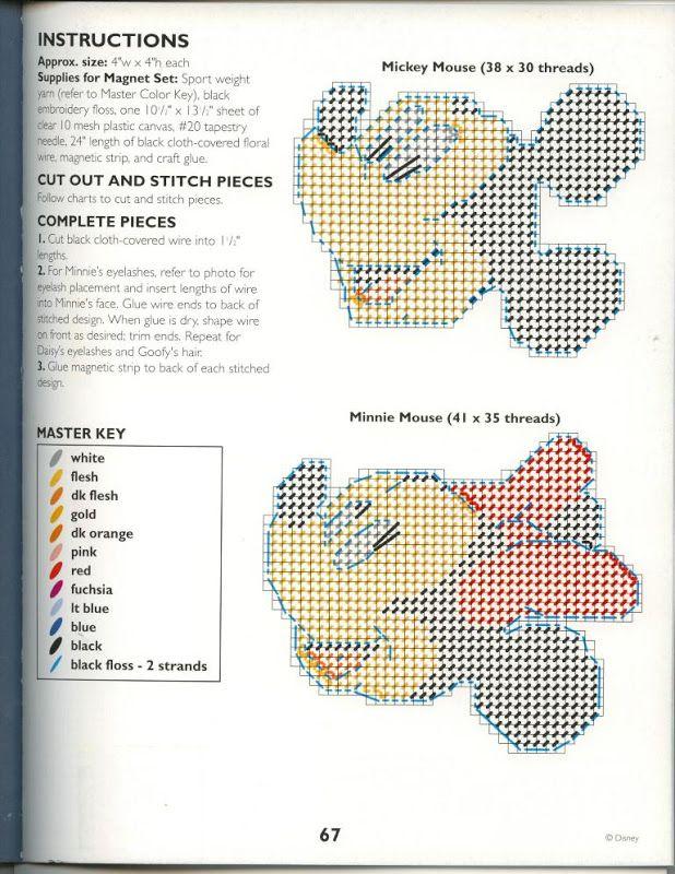 PLASTICS CANVAS DISNEY - sonia escaurido - Picasa Web Albums