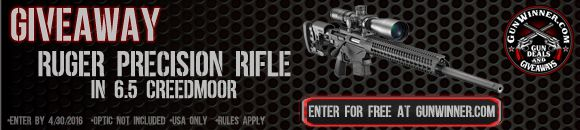 Win a Ruger Precision Rifle ($1,400)! #NRA #gunrights #2A #sweepstakes #giveaway #sorteo #contest