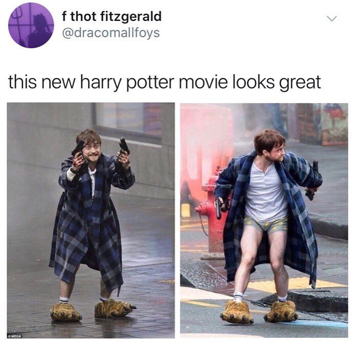 British Laughs Is One Of The Best British Meme Pages Around Harry Potter Memes Hilarious New Harry Potter Movie Harry Potter Movies