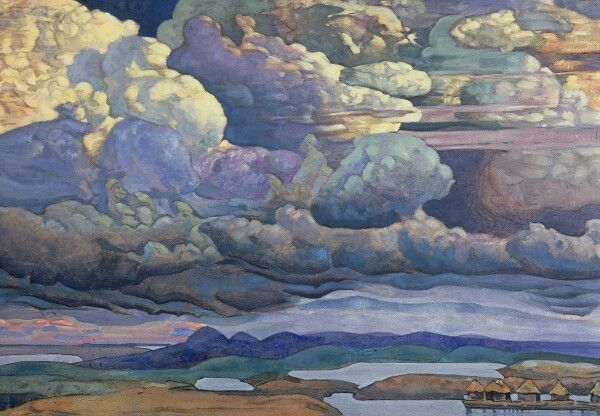 """Battle in the heavens"" 1912"