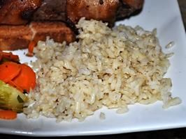 Flawless Pressure Cooker Brown Rice - This turned out awesome!  Best brown rice I think I have ever cooked!